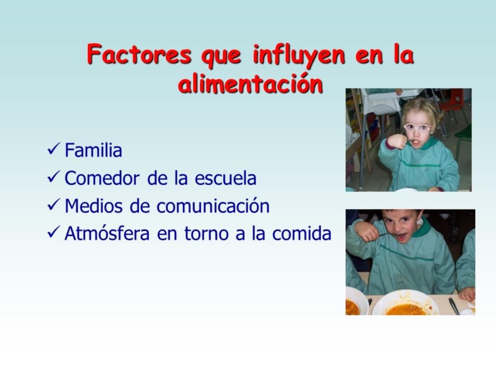 Alimentación Infantil . Escuela Infantil Nuestra Señora de las Victorias
