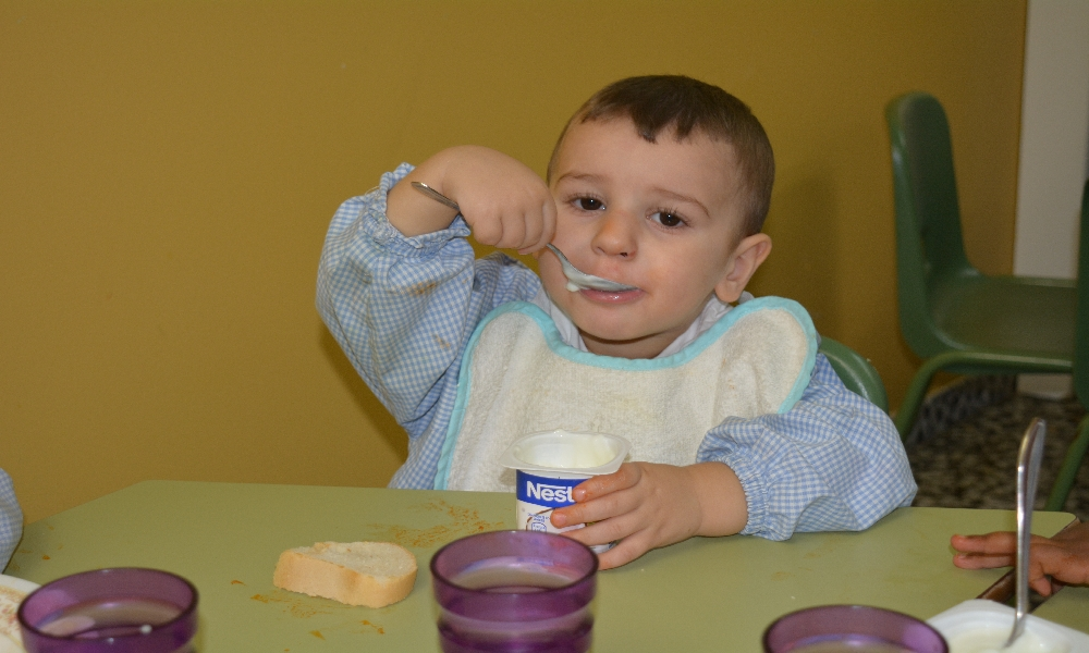 Comedor escolar. Escuela Infantil Nuestra Señora de las Victorias